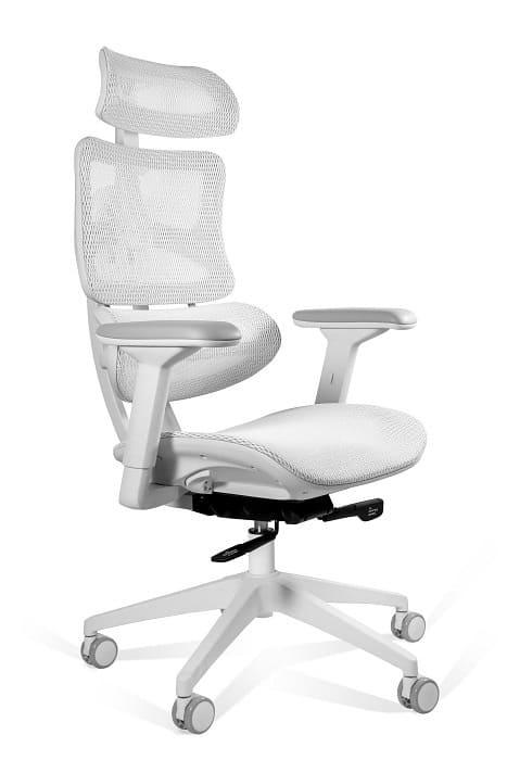 Ergonomic Office Chair Seat White Mesh, Ergonomic Office Chair